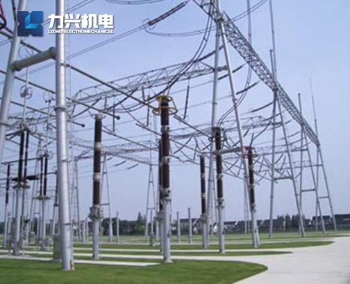 變電站鋼管構支架